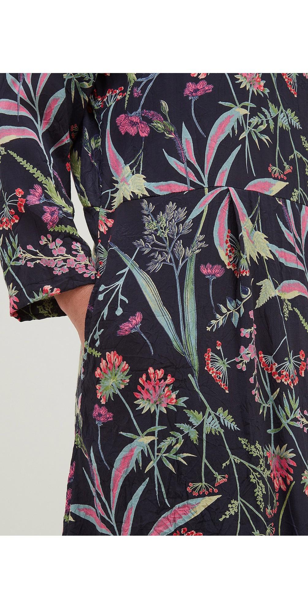Bryony Dress Botanical Print main image