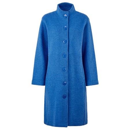 Adini Quincy Coat Boiled Wool - Blue