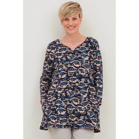 Adini Bonnie Faroe Print Tunic  - Blue