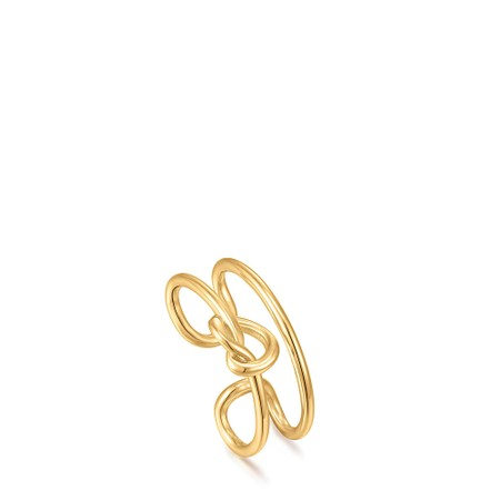 Ania Haie Knot Ear Cuff - Gold