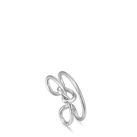 Ania Haie Knot Ear Cuff - Metallic