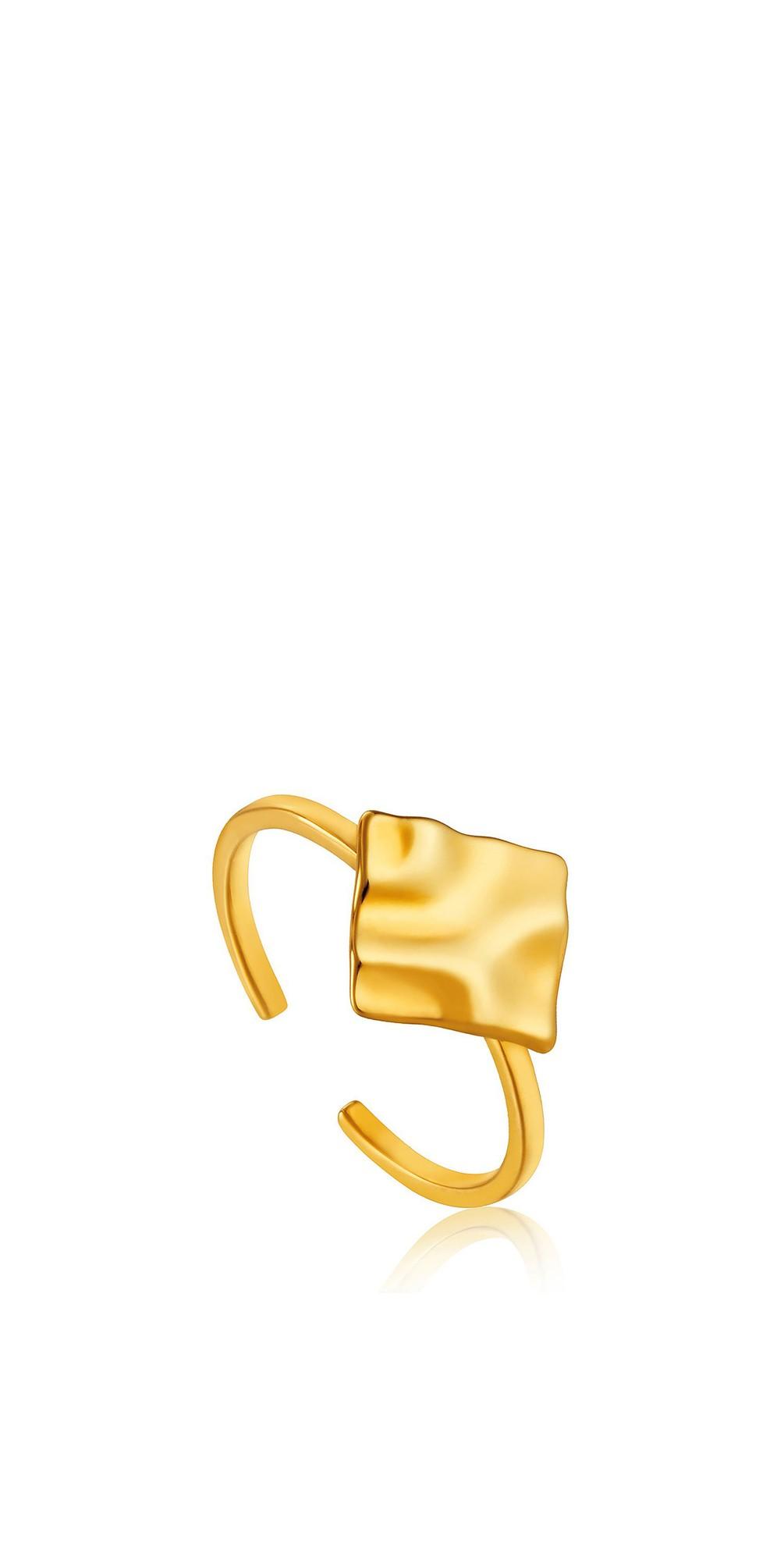 Crush Square Adjustable Ring main image