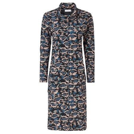 Adini Robyn Dress Faroe Print - Blue