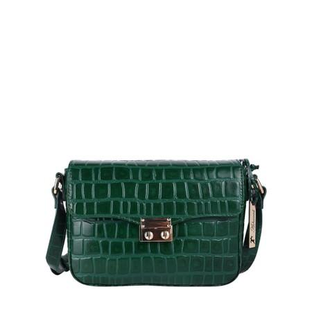 Ashwood Lansdowne Cross Body Leather Bag - Green