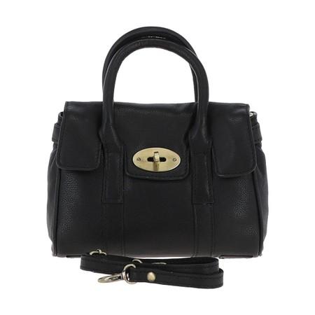 Ashwood Malvern Leather Bag - Black