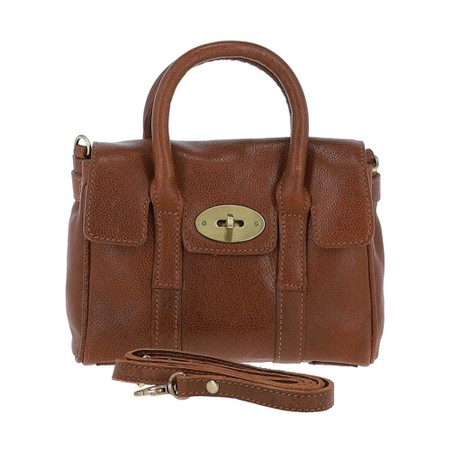Ashwood Malvern Leather Bag - Brown