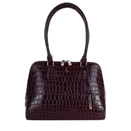 Ashwood Montpelier Leather Bag - Red