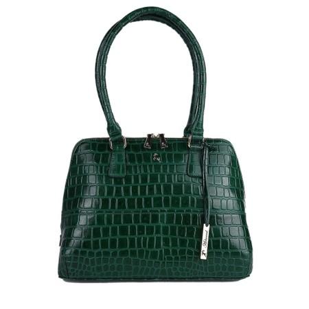 Ashwood Montpelier Leather Bag - Green
