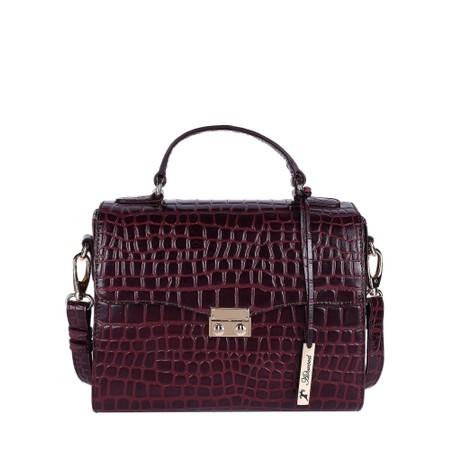 Ashwood Charlton Leather Handbag - Red