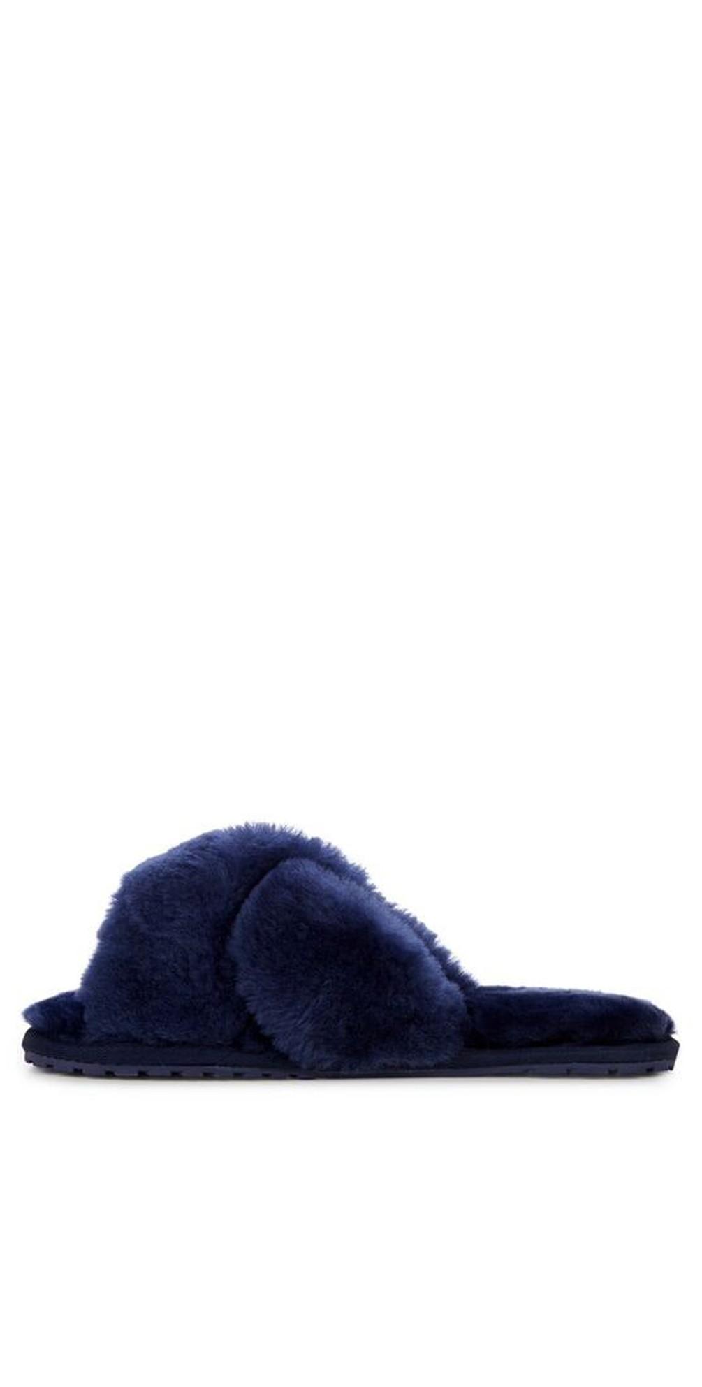 Mayberry Midnight Sheepskin Slider Slipper main image