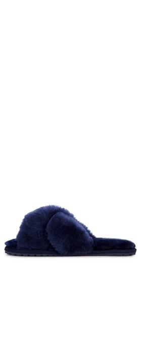 EMU Australia Mayberry Midnight Sheepskin Slider Slipper Midnight