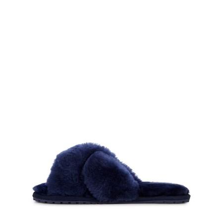 EMU Australia Mayberry Midnight Sheepskin Slider Slipper - Blue