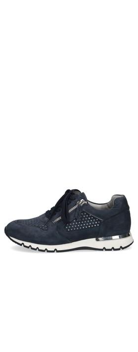 Caprice Footwear Comfort Trainer  Ocean Navy