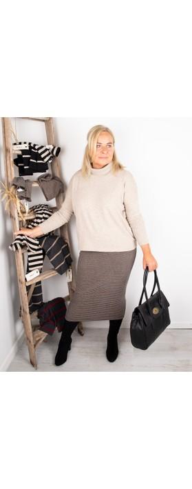 Mama B Vigo Tcost Fleece Rib Jumper Marmo