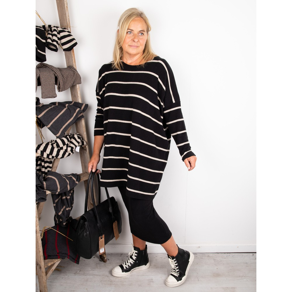 Mama B Lilla M U Plain Fleece Skirt Nero
