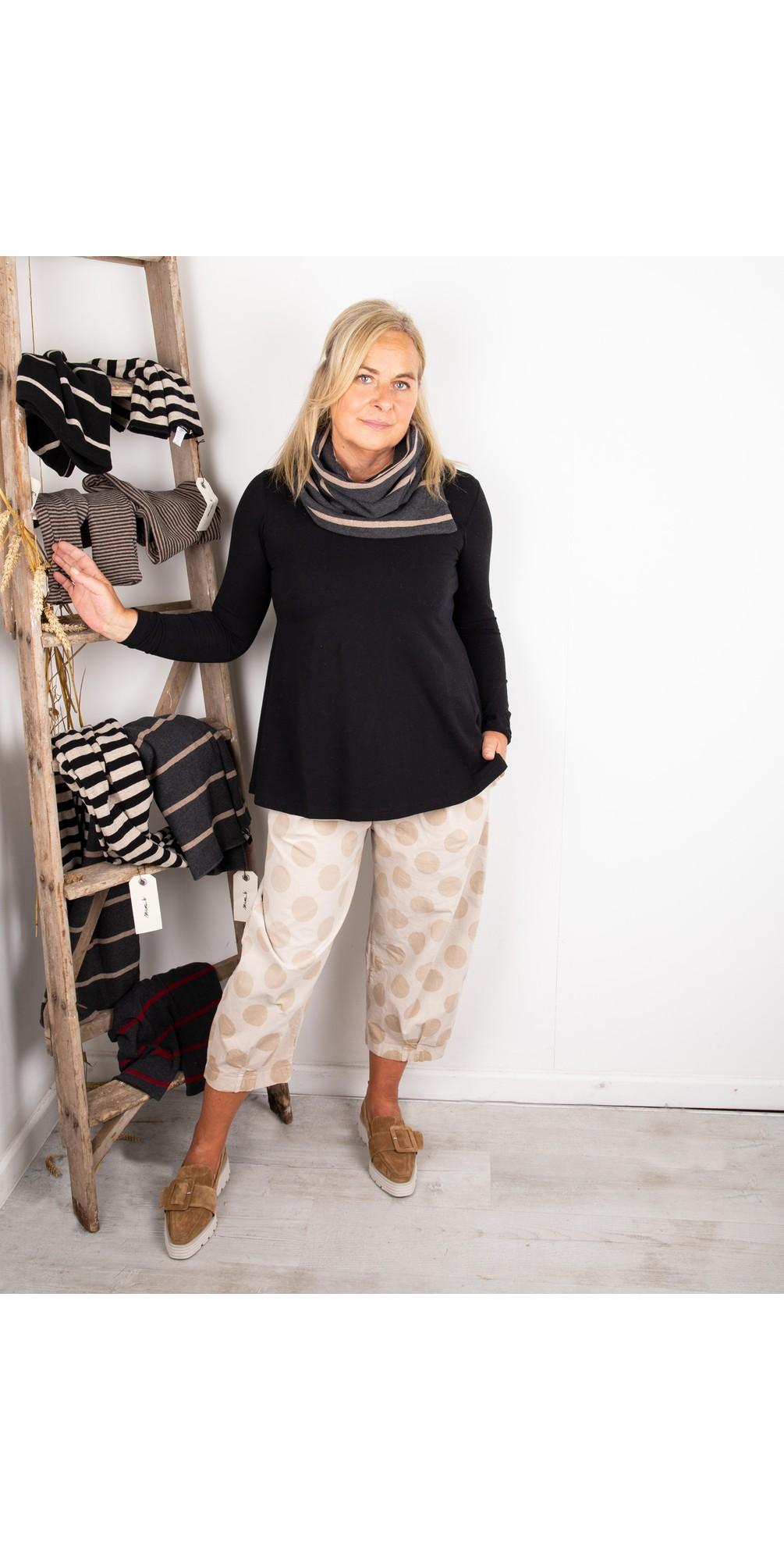 Spacco RG Wide Stripe Fleece Snood main image