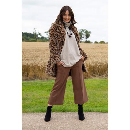 Masai Clothing Piana Jersey Culotte  - Brown