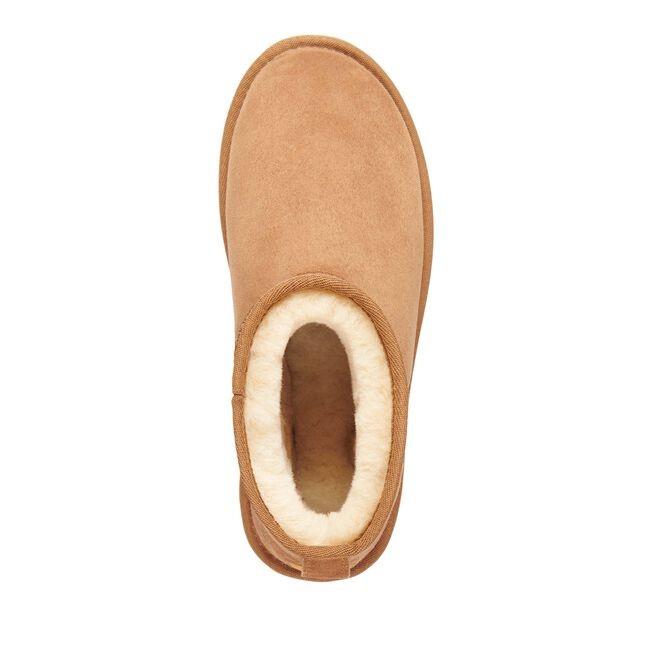 EMU Australia Stinger Micro Sheepskin Ankle Boot Chestnut