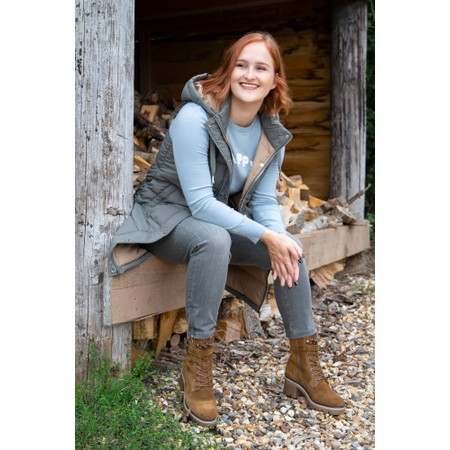 Tamaris Liliana High Leg Hiker Boot - Brown