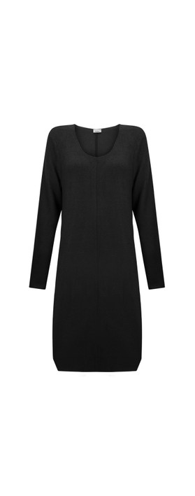 Thing Zoe A Shape Dress Black