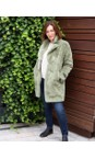 RINO AND PELLE Mistletoe  Joela Faux Fur Coat