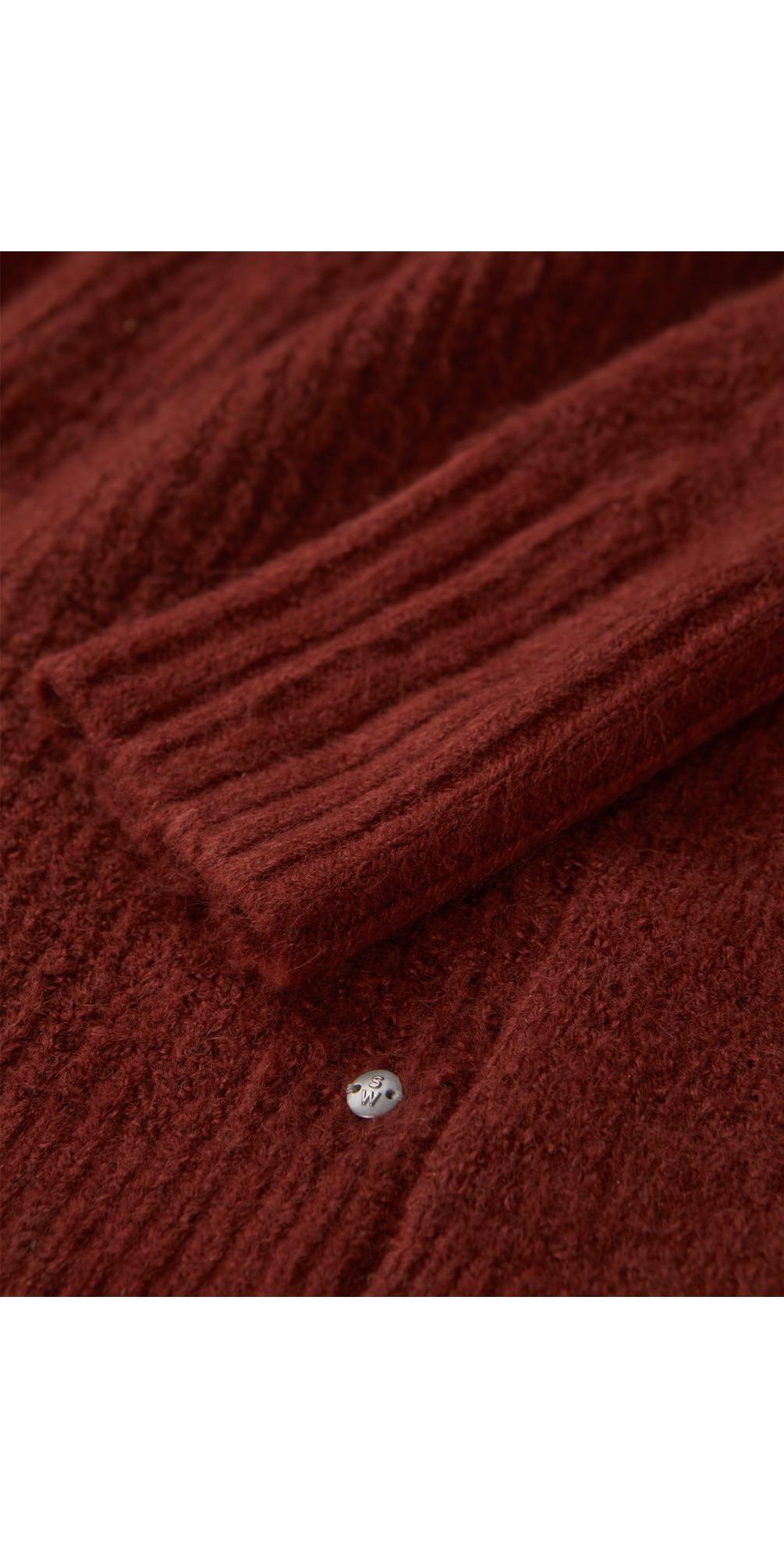 Oversized Long Wool Blend Cardigan main image
