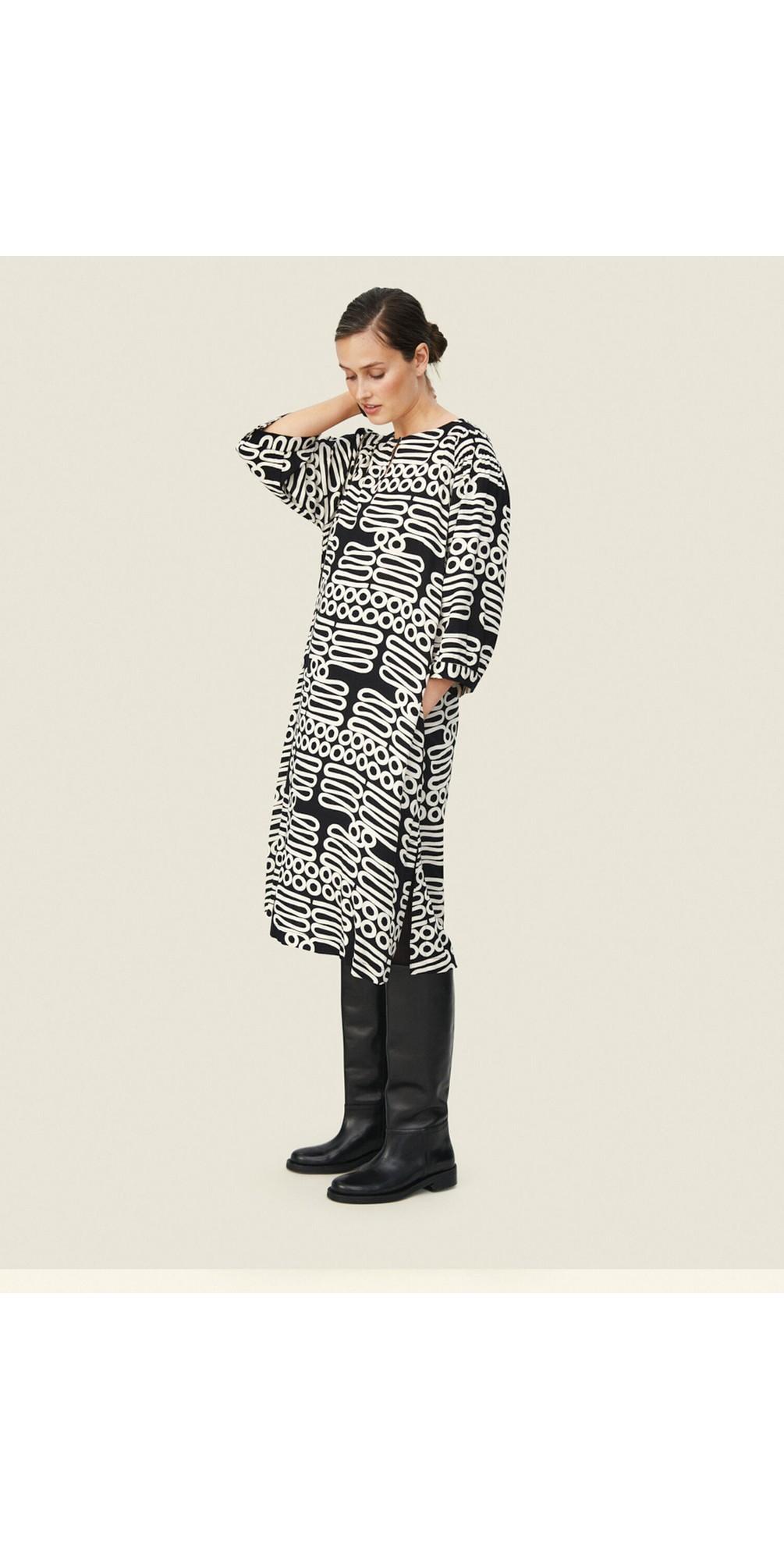 Niana Monochrome Dress  main image