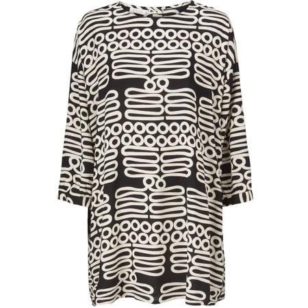 Masai Clothing Gunilla Tunic - Black
