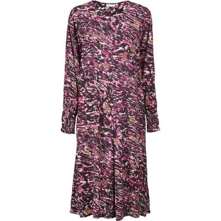 Masai Clothing Norassa Dress  - Sangria