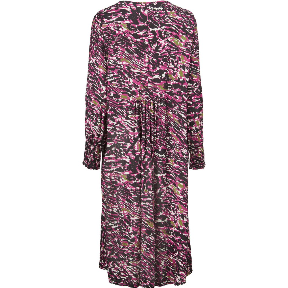 Masai Clothing Norassa Dress  Sangria