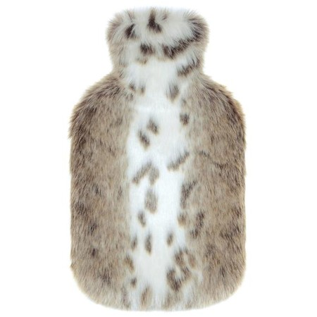 Helen Moore Faux Fur Hot Water Bottle - Multicoloured