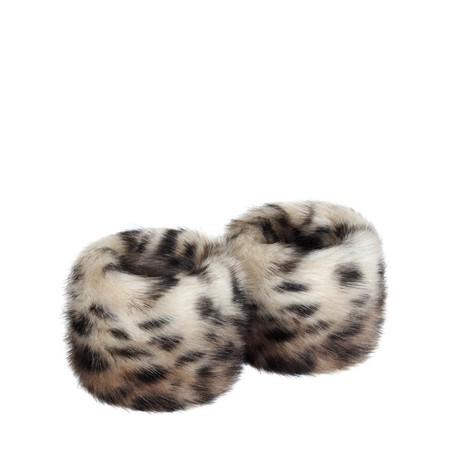 Helen Moore Faux Fur Wrist Warmer - Brown