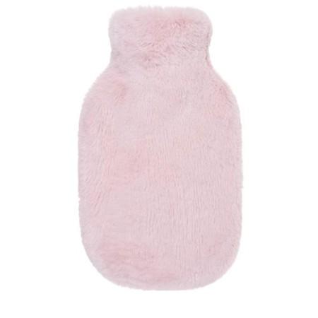 Helen Moore Faux Fur Hot Water Bottle - Pink