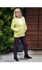 Robell Plum 591 Bella 09 Ankle Length 7/8 Cuff Trouser