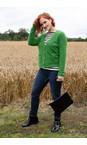 Amazing Woman Fir Green Pookie Boxy Cardi