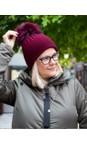 Bitz of Glitz Claret / Claret Pom Jessie Pom Pom Hat