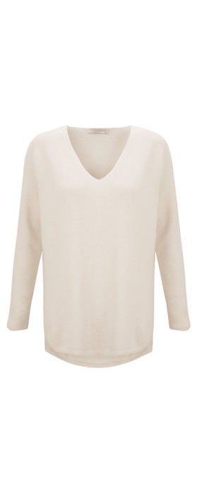 Amazing Woman Perrie V Neck Jumper Ivory