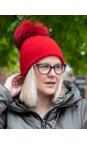 Bitz of Glitz True Red / True Red Pom Jessie Pom Pom Hat