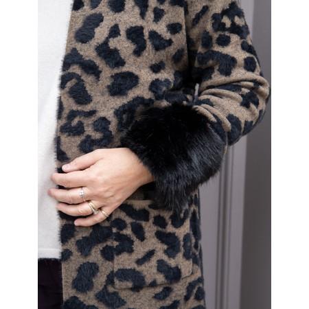 Helen Moore Faux Fur Wrist Warmer - Black
