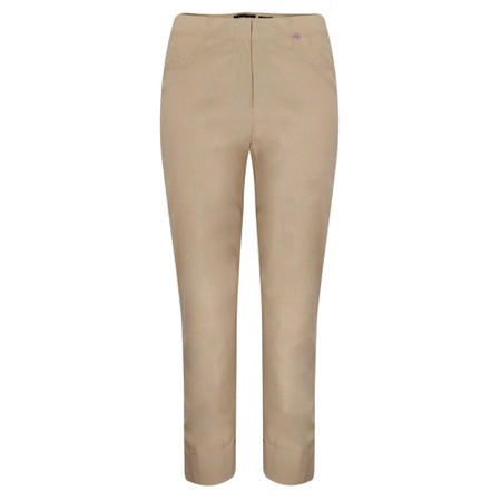 Robell Bella 09 Ankle Length 7/8 Cuff Trouser - Beige