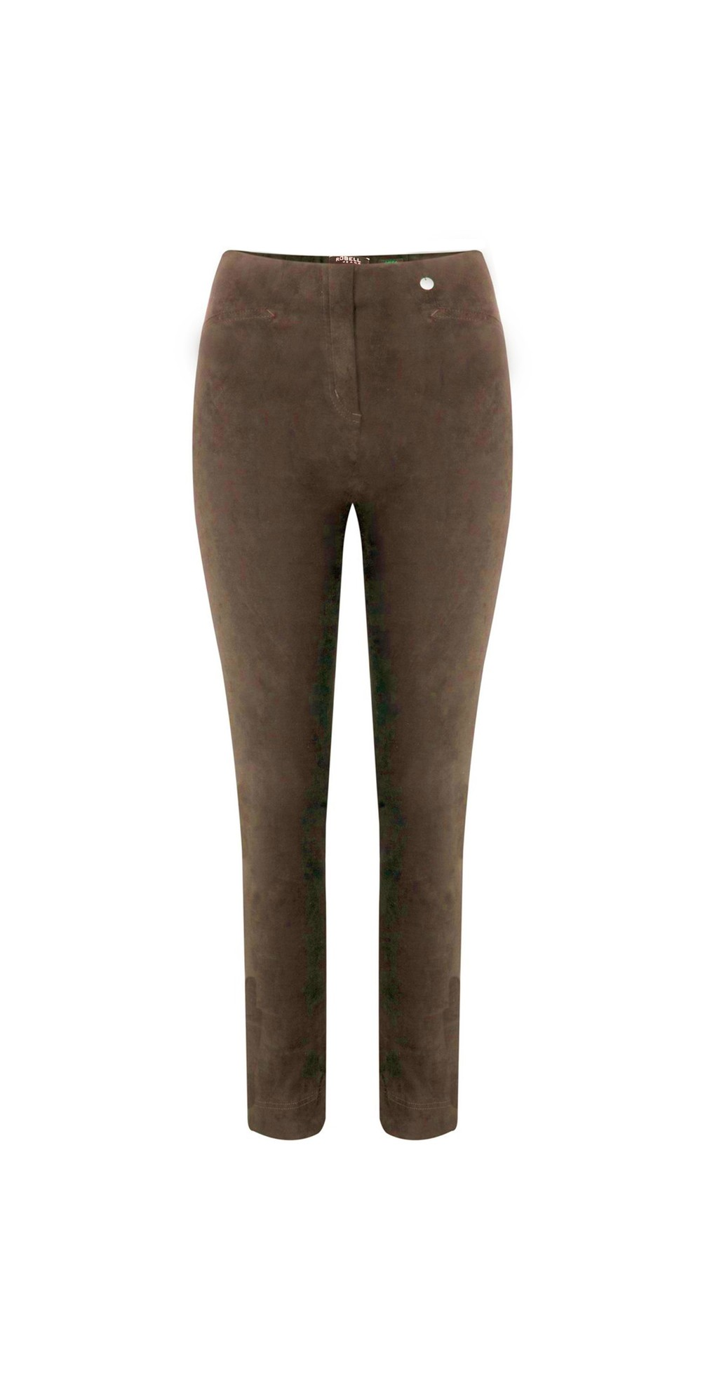 Rose Stretch Faux Suede Trouser main image