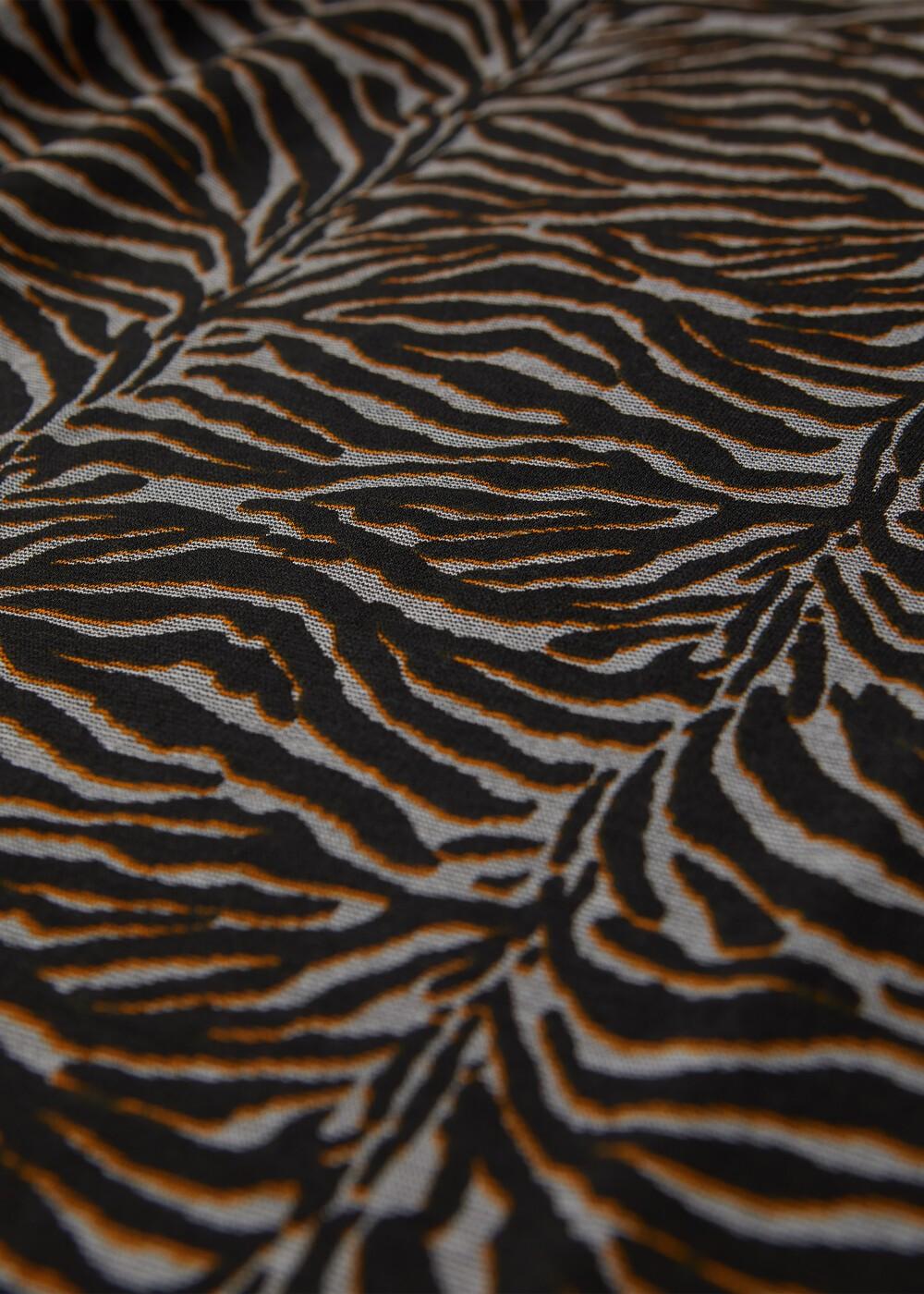 Animal Print Long Sleeved Top main image