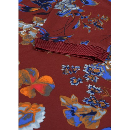 Sandwich Clothing Floral Print Jersey Top - Orange