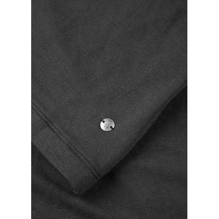 Sandwich Clothing Long Sleeve V-neck T-shirt  - Black