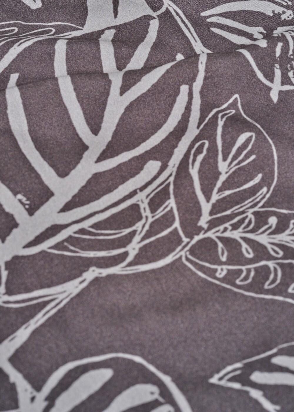 Printed Short Sleeve Woven Top main image