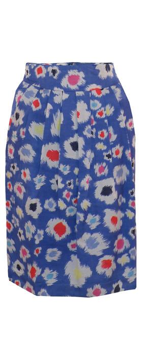 Great Plains Tigerlily Skirt Delphinium