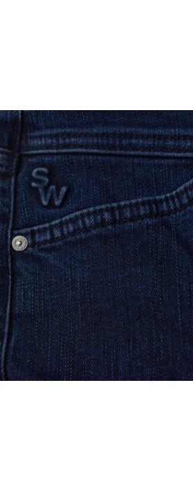 Sandwich Clothing Slim Fit Dark Denim Jean  Dark Blue Denim
