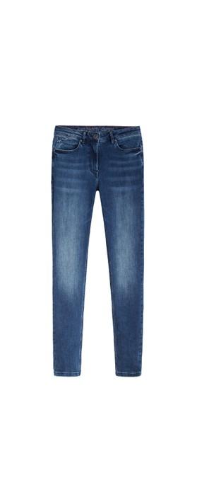 Sandwich Clothing Mid Denim Slim Fit Jean  Medium Blue Denim