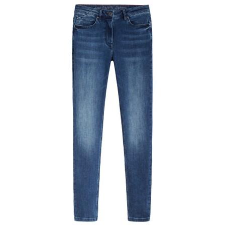 Sandwich Clothing Mid Denim Slim Fit Jean  - Blue