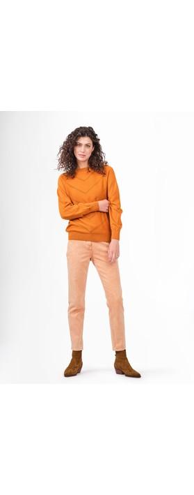 Sandwich Clothing Skinny HIgh Waist Coloured Jeans  Honey Ginger